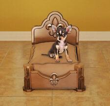 Fleur De Lis Gorgeous Handcrafted Luxury Dog Bed (Pet Bed)
