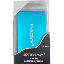 CASE BOX PER HARD DISK HD HDD 2.5 SATA AUTO ALIMENTATO USB 2.0