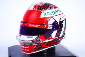 Casco Charles Leclerc Ferrari 2020 Helmet - Scala 1:5 Spark Collezione Caschi F1