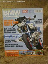 Mo Sonderheft BMW Motorräder Nr.7 R 1100 1150 100 GS R 1200 CL