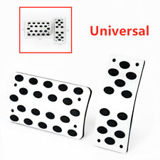 Car Accelerator Pedal Foot Pedals Pad Cover Non-slip Style For Brake Clutch 2p