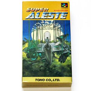 Super Famicom Super Aleste (Space MegaForce) Toho Nintendo SFC SNES shooter game