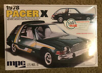 MPC - 1978 Pacer X - 1/25 scale Plastic Kit- Factory Sealed