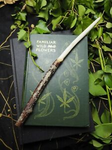 Natural Dorset Rowan Wood Wand - Life Force - Witchcraft, Wicca, Pagan, Ogham