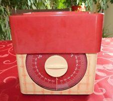 Balance de cuisine vintage Terraillon Ecossaise Rouge. 3kg.