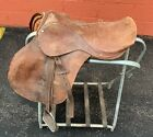 """15"""" Vintage English Saddle"""