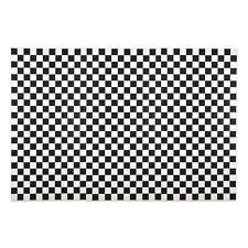 BLACK & WHITE Checkered Racing BACKDROP BANNER photo prop WALL MURAL party decor