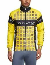 Jolly Wear Yellow Tweed Adult's Cycling Winter Jacket - Medium - RRP £85