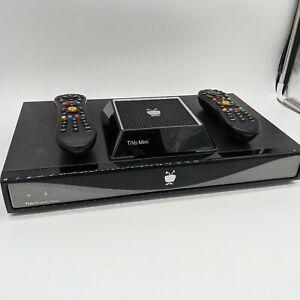 TiVo Roamio Plus (1TB) DVR with TiVo Mini Tested w/Cords and Remotes