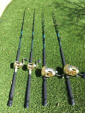 Custom Offshore fishing rods and reels, Shimano, Calstar, Gloomis