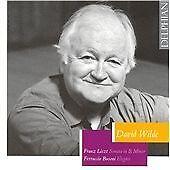 Liszt - Piano Sonata in B minor & Busoni Elegies / David Wilde, David Wilde, Fra