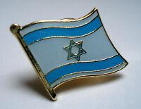 Israel Flag Lapel Pin Badge Superior High Quality Gloss Enamel