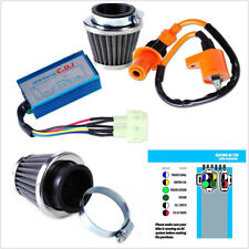 Professional Motorbike Ignition Coil+CDI+Air Filter Kit Fit For GY6 50-150cc ATV