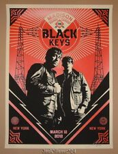 Shepard Fairey Black Keys New York Night 1 Poster Print Signed Numbered 2012