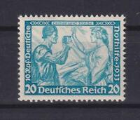 DR 505 B Nothilfe Wagner 20 Pfg. postfrisch FA HD Schlegel einwandfrei (bt161)