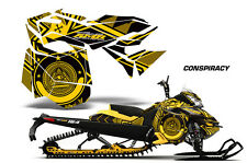 AMR Racing Sled Wrap Ski Doo Rev XM Snowmobile Graphics Kit 2013-2016 CONSPIRACY