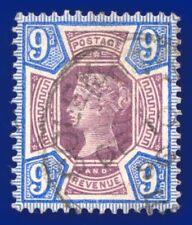 1887 SG209 9d Dull Purple & Blue K38(1) Coleman St. CDS DE 10 96 CV £72 afox