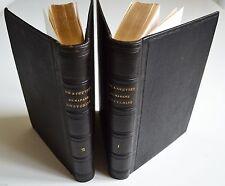 VIE ET OEUVRES DE MME SWETCHINE CTE DE FALLOUX ED A. VATON 2 TOMES 1863  BE