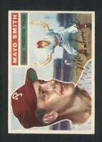 1956 Topps #60 Mayo Smith NM/NM+ Phillies DP MG 84093