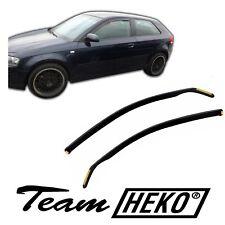 Audi A3 S3 2003-2011 deflectores de viento 2 piezas Heko (10215)