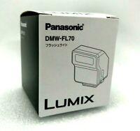 New Panasonic Flashlight DMW-FL70-S - SILVER for LUMIX DMC-LX100 DMC-GM5
