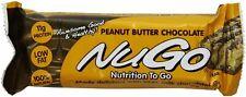 NuGo Family Bar, NuGo, 15 Bars Peanut Butter Chocolate