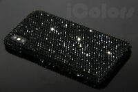 Black Bling Diamond Case Cover For iPhone X XR XS Max 7 8 WITH SWAROVSKI ELEMENT