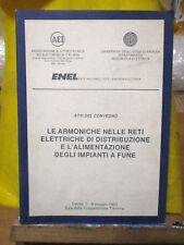 ingegneria ENEL Armoniche reti elettriche distribuzione alimentazione impianti