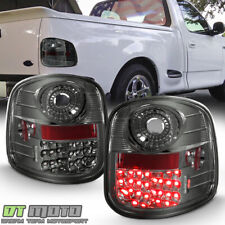 Smoke Tinted 1997 2003 Ford F 150 F150 Flareside Lumileds Led Tail Lights Lamps Fits 1997 Ford F 150