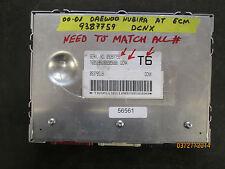 00 01 DAEWOO NUBIRA AT ECM #9387759 DCNX *See item description*
