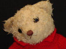 GIORGIO BEVERLY HILLS COLLECTORS BEAR 1995 RED KNIT SWEATER PLUSH STUFFED ANIMAL