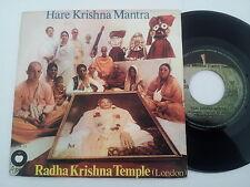 "Radha Krishna temple ""Hare Krishna... Apple PORTUGAL 7"" Vinyle Beatles"