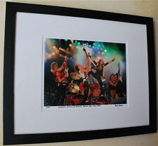 Scorpions Rare live fine art photo framed 1984 tour LA Forum signed # 4/100