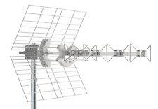 FRACARRO BLU5HD ANTENNA DIRETTIVA UHF E21-E69 5 ELEMENTI CON CONNETTORE F 217901