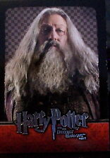 HARRY POTTER DEATHLY HALLOWS 2 ABERFORTH DUMBLEDORE CHARACTER CARD