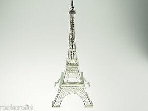 "15"" XL Paris Parisian France French Eiffel Tower Replica Prop Wedding CakeTopper"