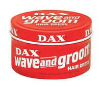 Dax Wave And Groom Hairdress Hair Dress Long-Lasting Waves Shine Grease 3.5 oz