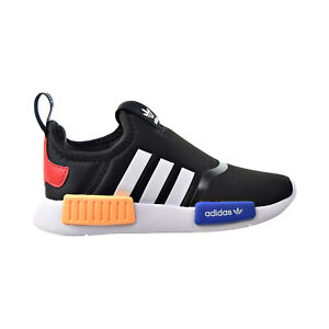 Adidas NMD 360 I Toddlers' Slip-On Shoes Black-White-Solar Gold H01855