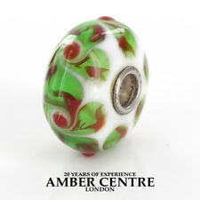 Trollbeads Genuine Silver Charm Red Cherry 64610 RRP£35!!!
