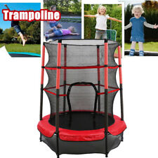 """55"""" Junior Trampoline Set 4.5FT With Safety Net Enclosure Kids Outdoor Toy NEW"""