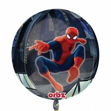 38cm Spiderman Marvel Heroes Orbz Foil Helium Balloon Birthday Party Decoration