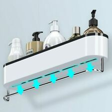 Storage In The Bathroom Wall-mounted Storage Racks Towel Bath Organizer