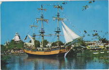 Disneyland,California,Anaheim,Columbia Sailing Ship,Frontierland,C-12,1958-59