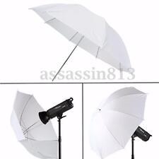 "43"" Umbrella Translucent Diffuser For Photo Studio Lighting Stand Kit Soft White"