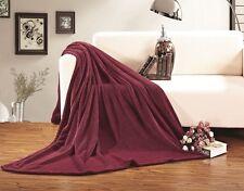 Elegant Comfort Micro-Fleece Ultra Plush Luxury Solid Blanket, King/California K