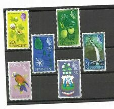 St Vincent - High Values from 1965 Set - MM - Cat value £25