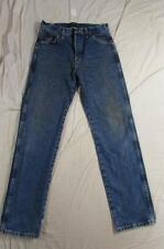 Wrangler 13MGSHD George Strait Faded Denim Jeans Measure Size 29x32 Cowboy