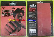 DVD film DRUNKEN MASTER Bruce Lee cinema arti marziali 6 SIGILLATO chan no vhs