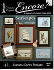 Oceanlighthouse Nauticalfishseashell Counted Cross Stitch Charts Your Choice