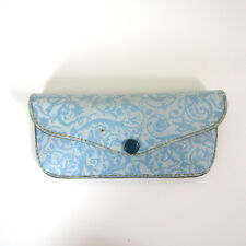 Vtg 60s Blue Glasses Case Mod Ornate Hollywood 1960s Eyeglass Sunglasses Holder